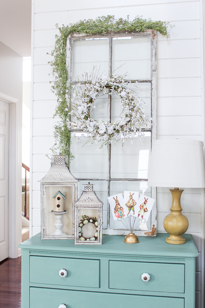 spring decor ideas entryway