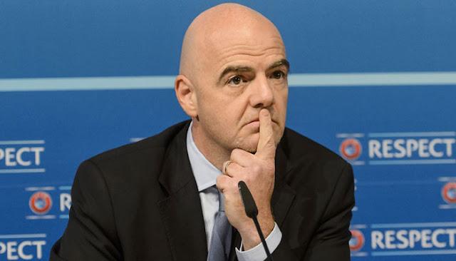 Infantino no convence a los sponsors de FIFA