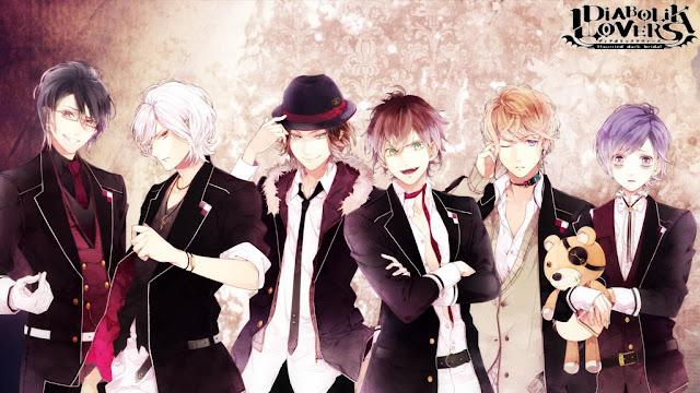 diabolik lovers wallpaper 1 15 Anime Reverse Harem Terbaik