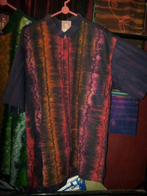Model Baju Pria Kerja Sasirangan khas Banjar