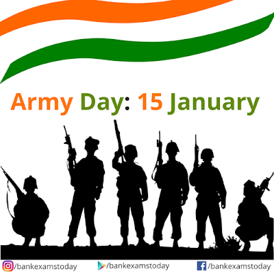 70th Army Day 15 January 2018 Gk Digest