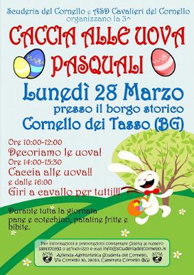 Caccia alle Uova Pasquali 28 Marzo Cornello dei Tasso (BG)