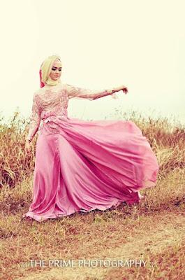 Kreasi Hijab Pernikahan Terbaru