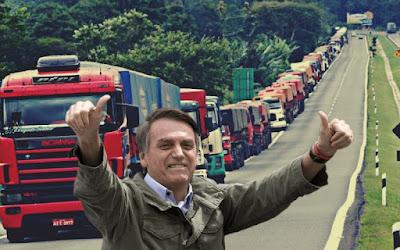 bolsonaro caminhoneiros