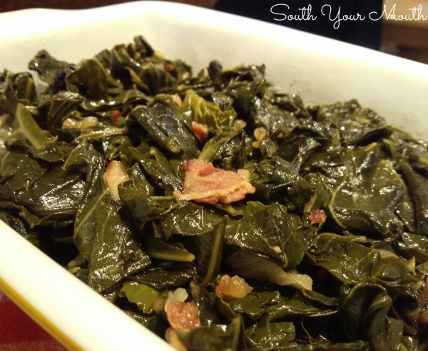Southern Style Collard Greens | Step-by-step instructions for cooking authentic Southern collard greens.