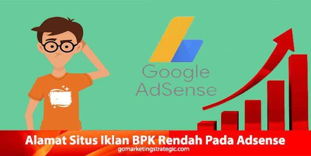 Memblokir Alamat Situs Iklan BPK Rendah Adsense
