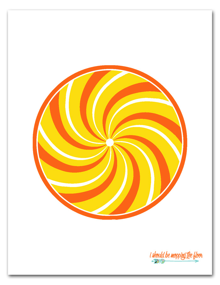 Printable Lollipops