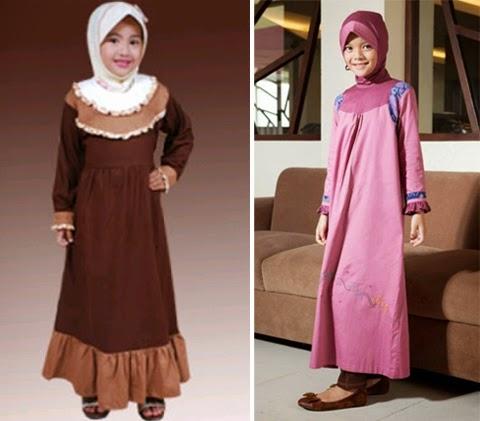 Model Baju Gamis Anak Terbaru 2016