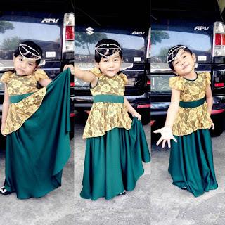 Model Kebaya Gaun Anak