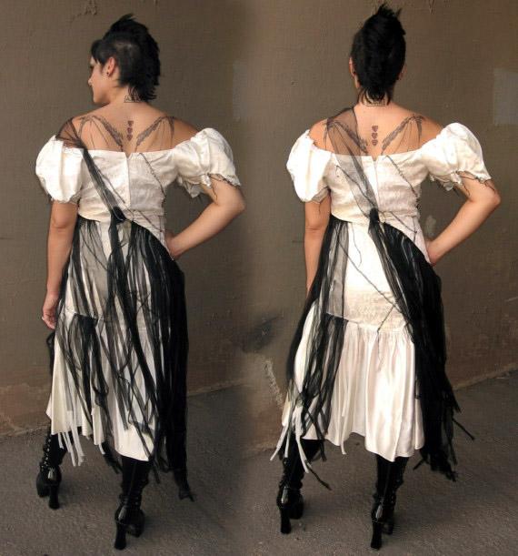 Handmade Victorian, Steampunk, Gothic Wedding Dresses