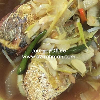 Ikan Parang Goreng Asam Resepi Mudah Senang Disediakan