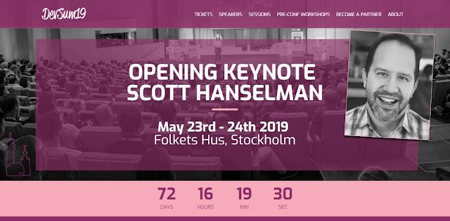 DevSum, sveriges häftigaste event för systemutvecklare - 23-24 maj 2019