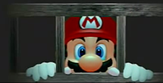 Mario arrested Super Mario Sunshine jail cell