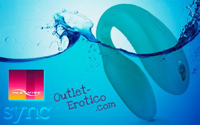 El We Vibe Sync es totalmente sumergible y resistente al agua