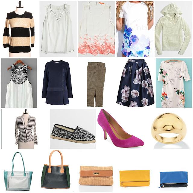 july clothing budget
