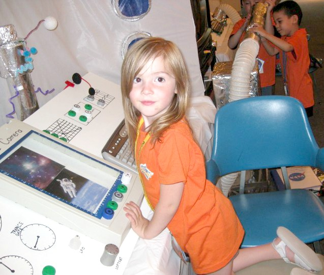 futuristic activities for children kids vbs outer space rocket diy astronaut control board