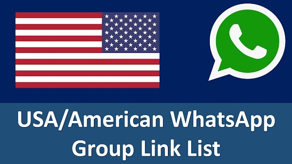 [LATEST] Best United States Of America Whatsapp Groups Links List