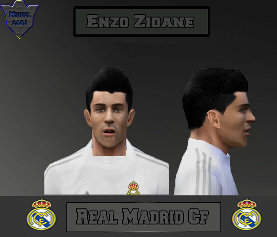 Ultigamerz Pes 2010 Pes 2011 Face: Ultigamerz: PES 6 Enzo Zidane (Real Madrid) Face