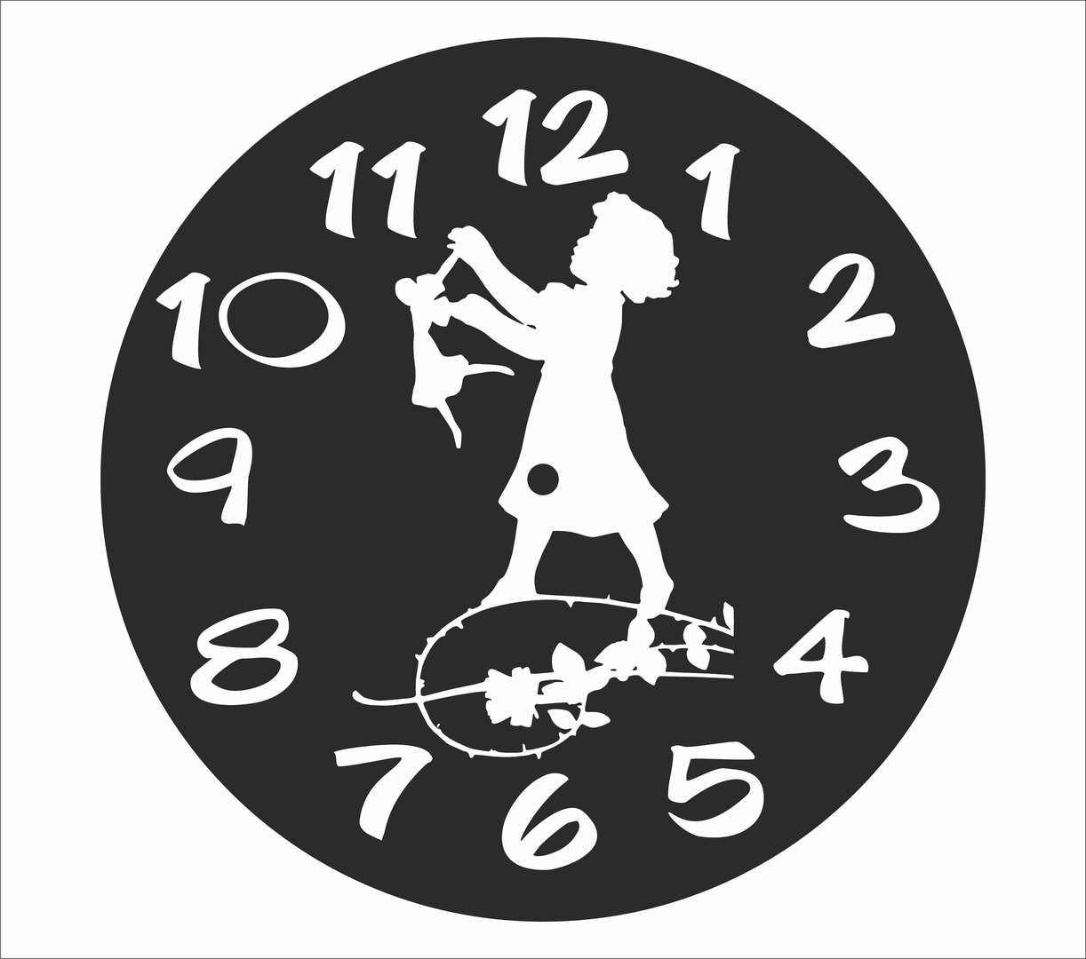 clock collection free cdr file for laser cutting - cnc world