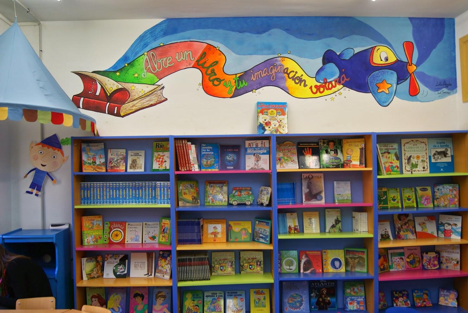 El rinc n de la educaci n f sica la biblioteca de mi cole - Estanteria biblioteca infantil ...