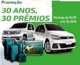 Promoção Sicredi União Ms/To 2018 Aniversário 30 Anos 30 Prêmios