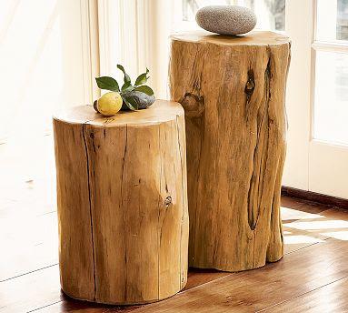 A Work In Progress Tree Stump Table