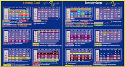 Kalender Pendidikan 2017/2018 untuk SD,SMP dan SMA