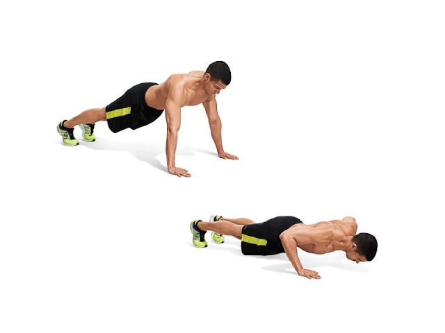 Best Chest Exercises of All Time - 30 Exercise - Wide-Grip Push Up