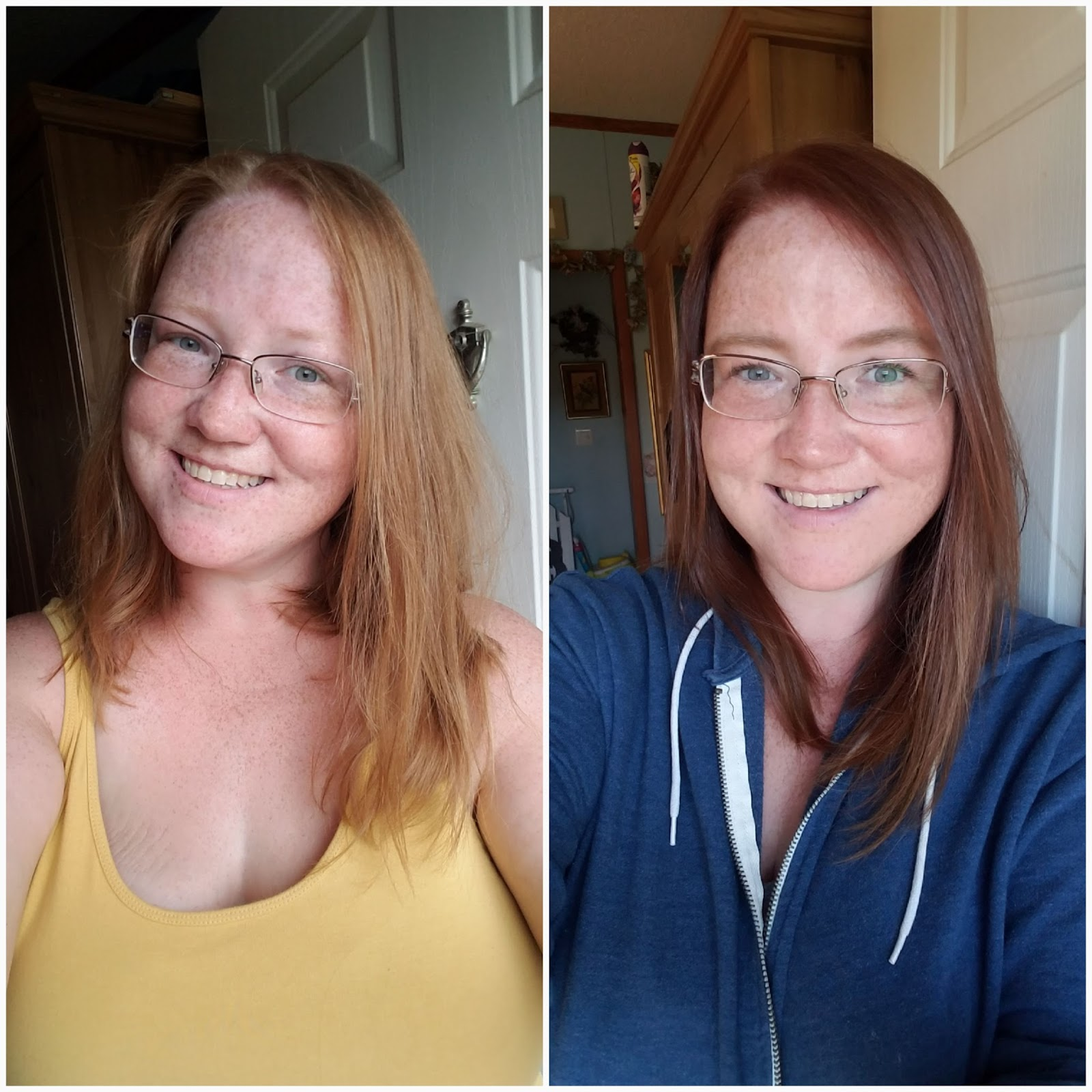 blogger review, hair color, box dye results
