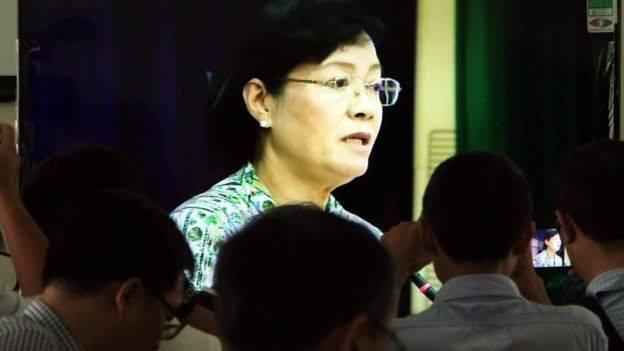Chủ tịch HĐND TP HCM Nguyễn Thị Quyết Tâm