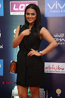 Actress Shraddha Srinath Stills in Black Short Dress at SIIMA Short Film Awards 2017 .COM 0016.JPG