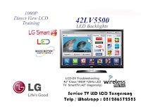 service led smart tv tangerang