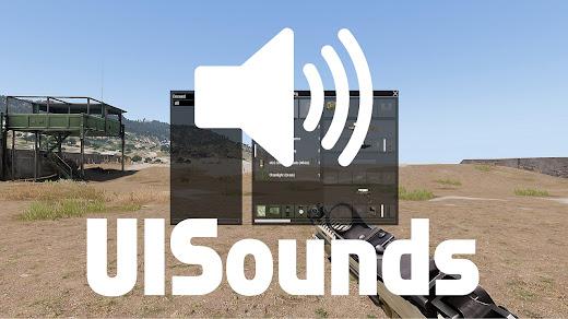 Arma3用インベントリ操作に音を追加するアドオン