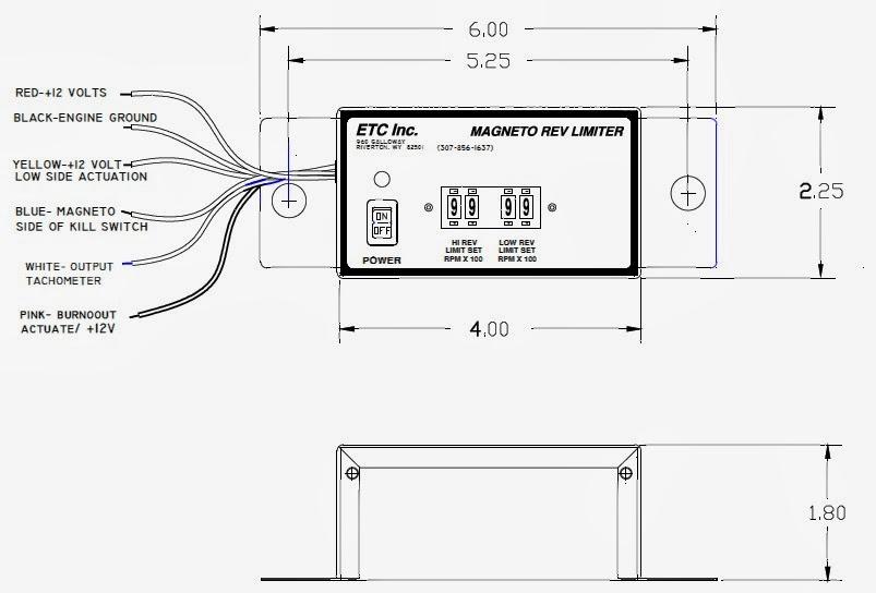 ETC Rev Limiters: Dual-Range Rev Limiter