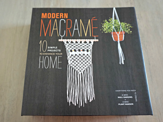 Learning How to Macramé