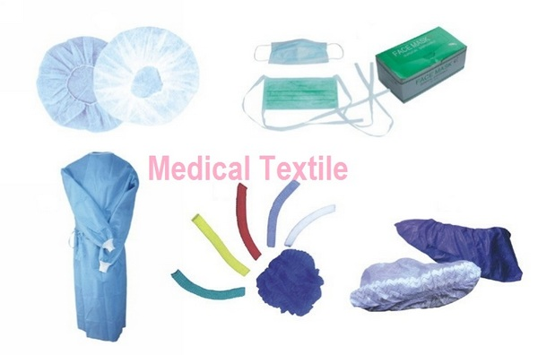 Different medical textiles