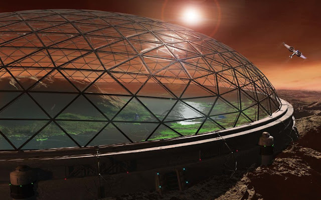 Next Big Future: Elon Musk envisons Mars colony with ...