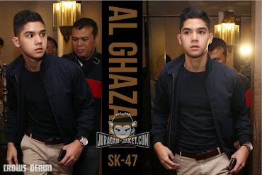 jas exclusive jaket al ghazali sk 47