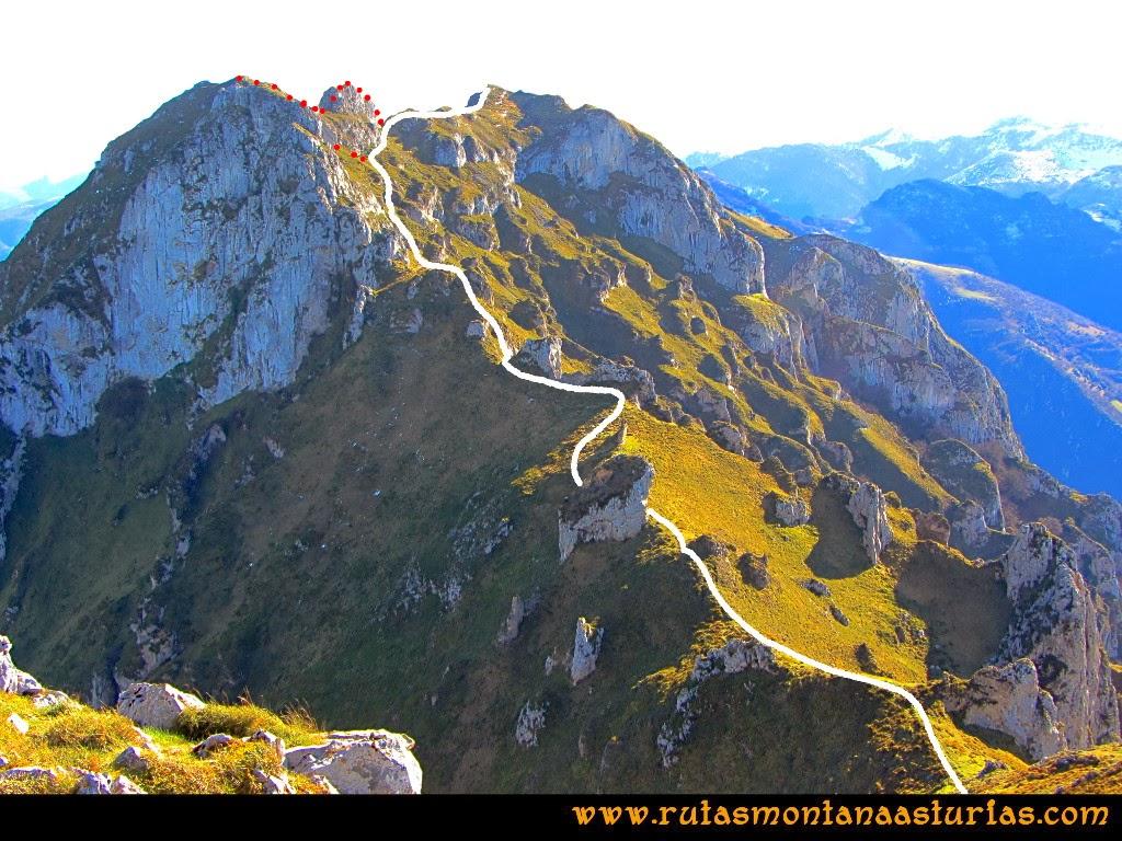 Rutas Montaña Asturias: Camino de la Hoya a la Forcada