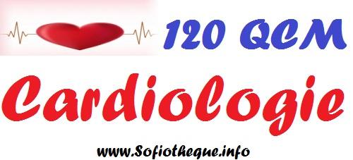 Télécharger | 120 QCM en Cardiologie avec leurs Réponses PDF