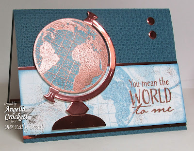ODBD The Earth and ODBD Custom Circle Ornaments Die Set, Card Designer Angie Crockett