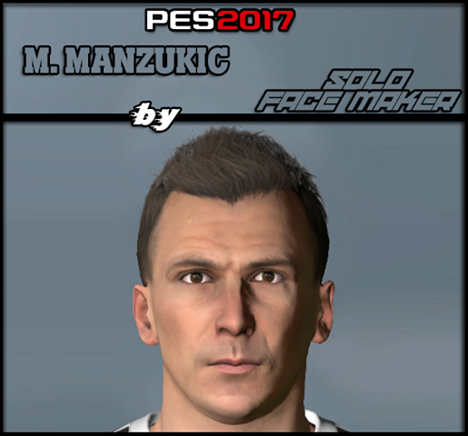 Ultigamerz: PES 2017 Mario Manzukic Face Convert From PES 2019
