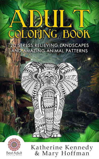 Our First Adult Coloring Book Is Finished