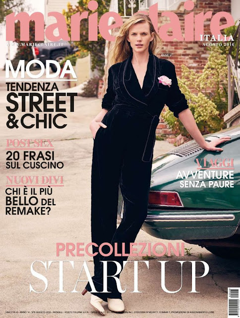Actress, Model, @ Anne Vyalitsyna - Marie Claire Italia, August 2016
