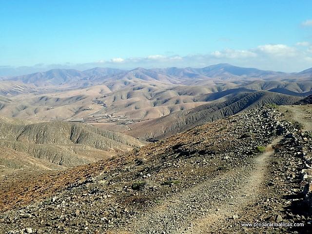 montañas y volcanes de Fuerteventura