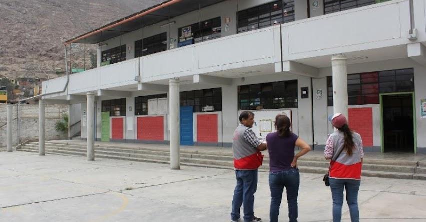 Más de 800 colegios recibieron S/ 7 millones para mantenimiento en el año escolar 2017 en la región San Martín