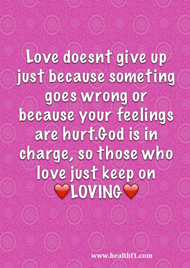 Mobilephone Quotes Wallpaper: Love Doesn\'t Give Up Quote Mobile ...