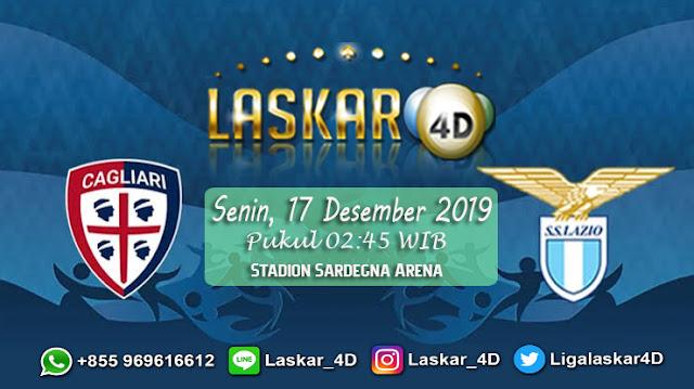 Prediksi Pertandingan Bola Cagliari vs Lazio 17 Desember 2019