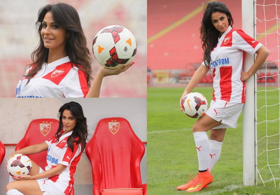 Serbian football Katarina Srećković host so beautiful that she almost lost her 'dream job'