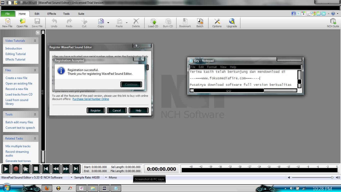 Wavepad register code | WavePad Registration Code v8 44 [PC & Mac